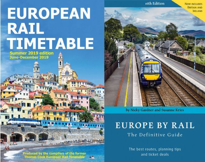 Summer 2019 & <br> Europe by Rail BUNDLE